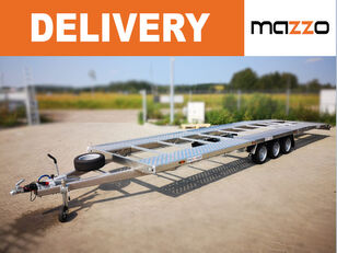 neuer Lightweight Only 670kg! 8.5m full ALU trailer for two cars 3500k Autotransportanhänger