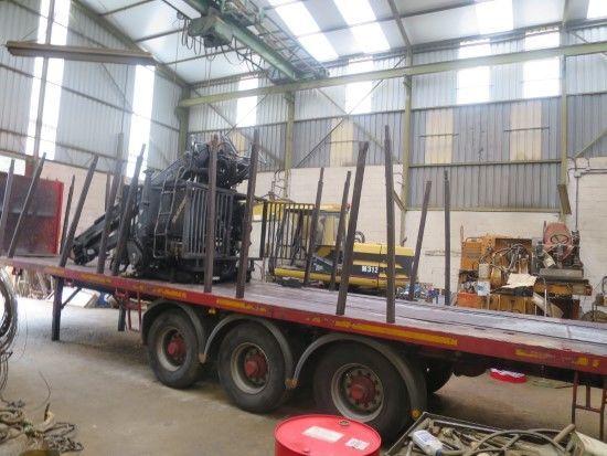 TRAILER (PIEZAS REPUESTO) Holztransporter Auflieger für Ersatzteile