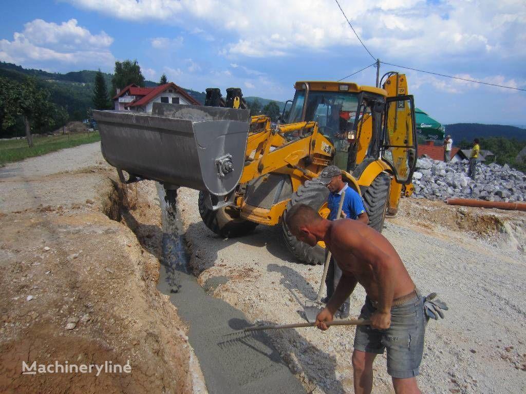 neuer Betonmischscaufel / Concrete Mixing bucket Betonmischbehälter
