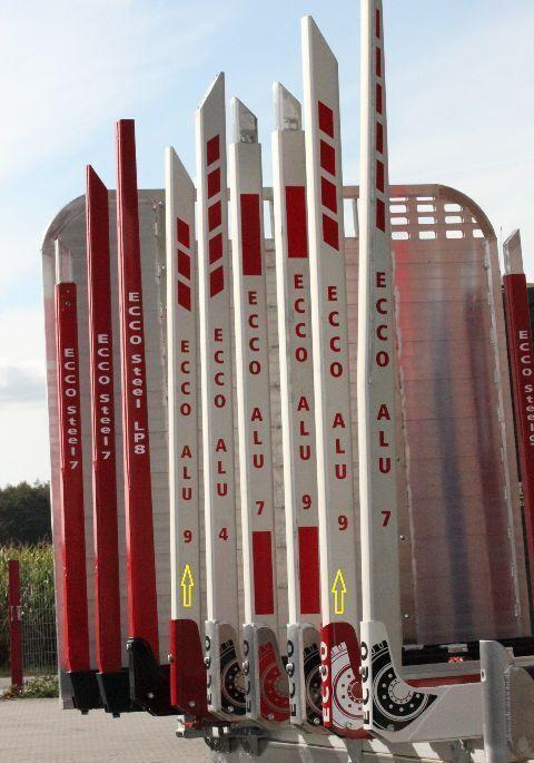 neue DOLL ECCO ALU / STEEL Holzrunge