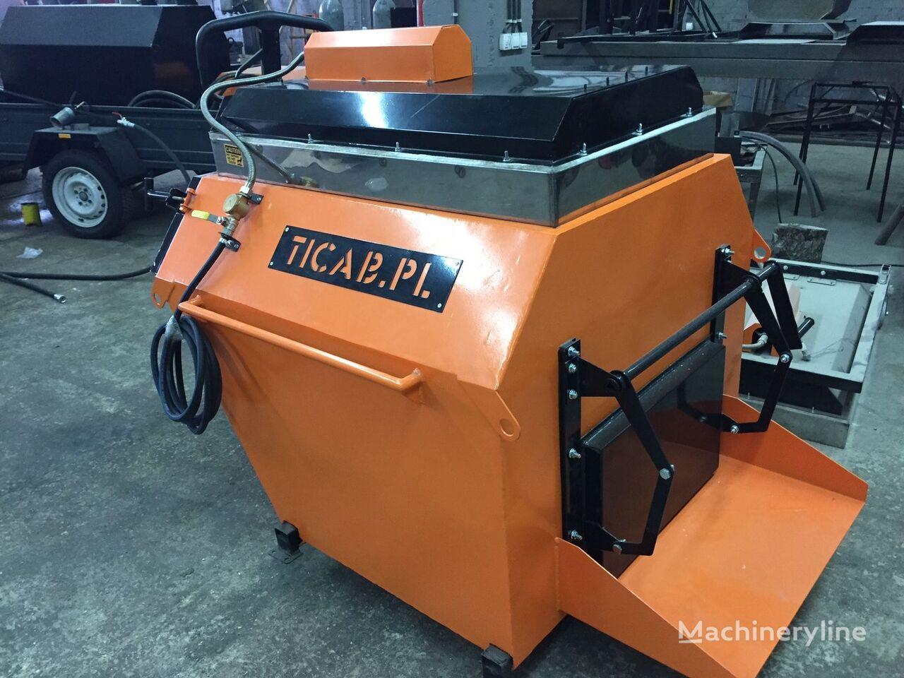 neuer Asphalt Recycler Asphaltrecycler