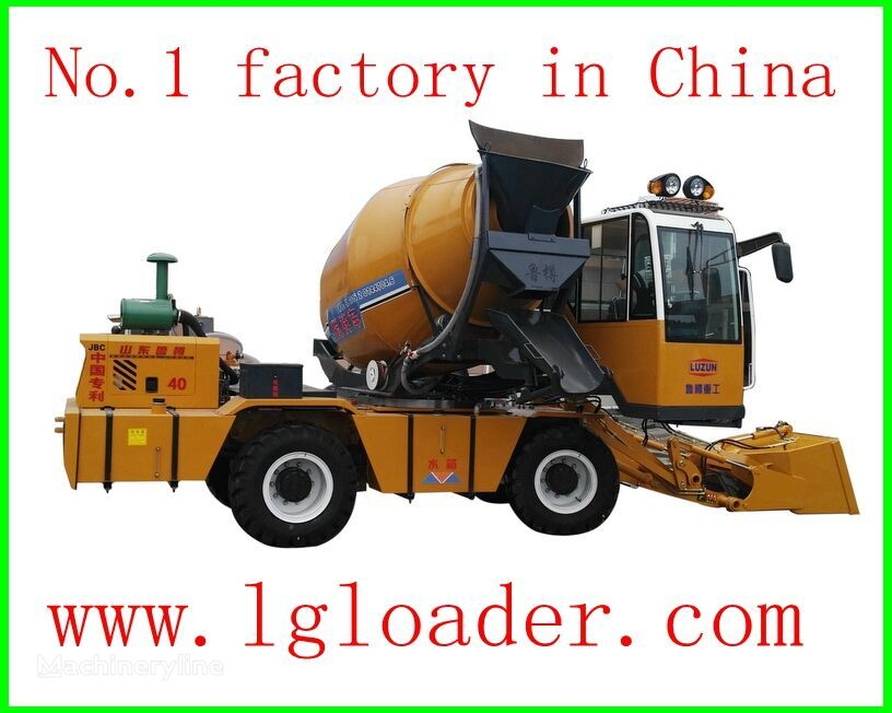 neuer self loading concrete mixer1 Betonfahrmischer