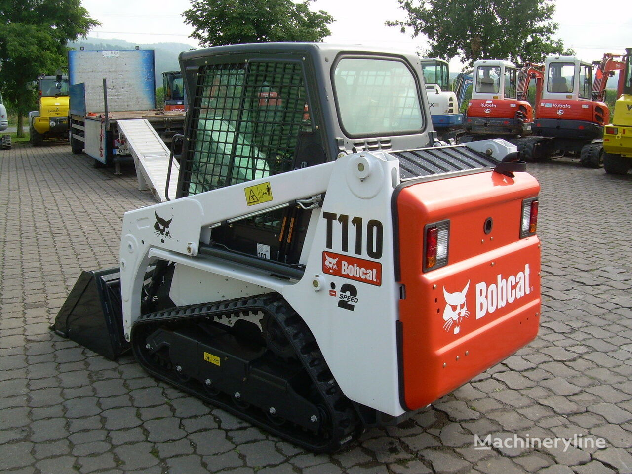 neuer BOBCAT T 110  Kompakt-Raupenlader