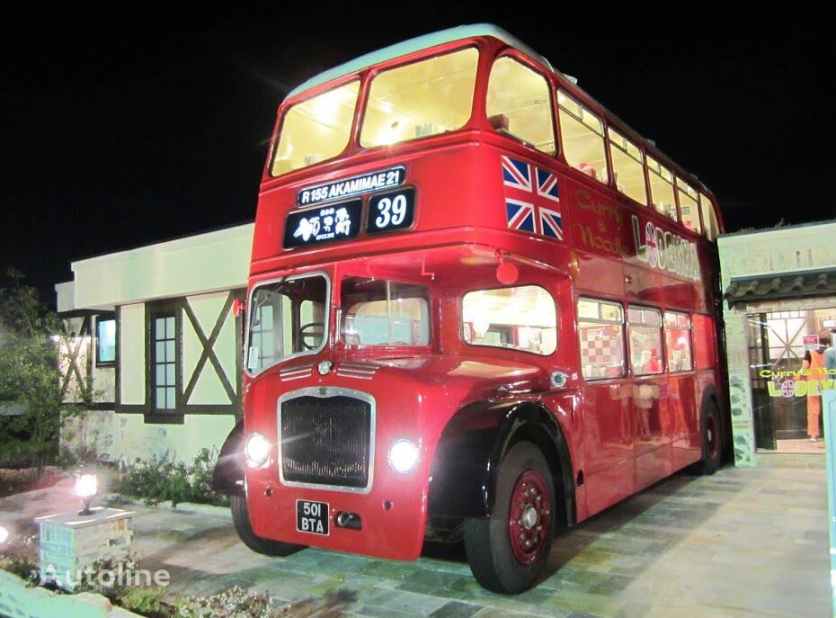 BRITISH BUS mobile RESTAURANT CAFE CATERING London traditional & modern Lond Doppeldeckerbus