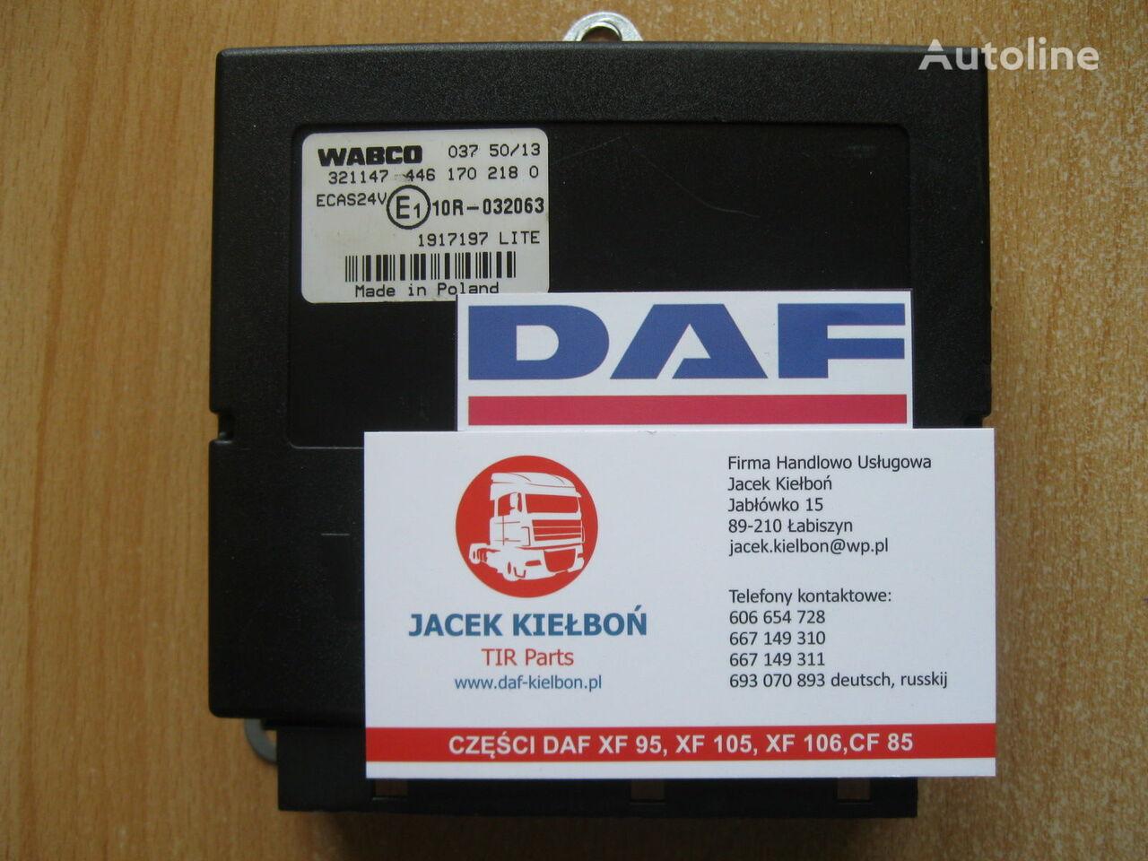 DAF Sterownik poduszek zawieszenia ECAS Steuereinheit für DAF XF 106 Sattelzugmaschine
