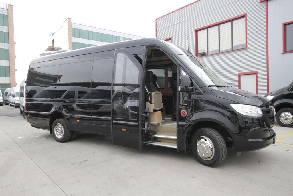 neuer MERCEDES-BENZ 519, vip *COC* Kleinbus