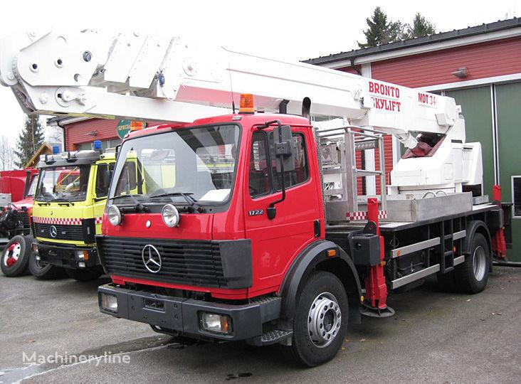 MERCEDES-BENZ 1722 4X2WD Feuerwehrleiter