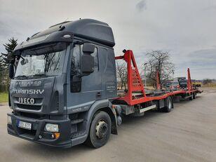 IVECO Eurocargo 140E28 Autotransporter + Autotransportanhänger