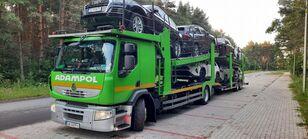 RENAULT Premium 410 Autotransporter + Autotransportanhänger