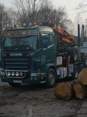 SCANIA R620 Holztransporter LKW