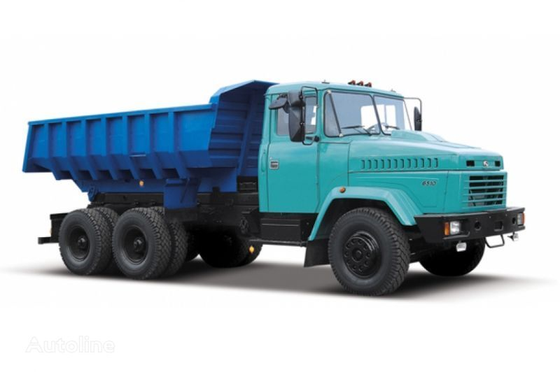 neuer KRAZ 6510 tip 1  Kipper LKW