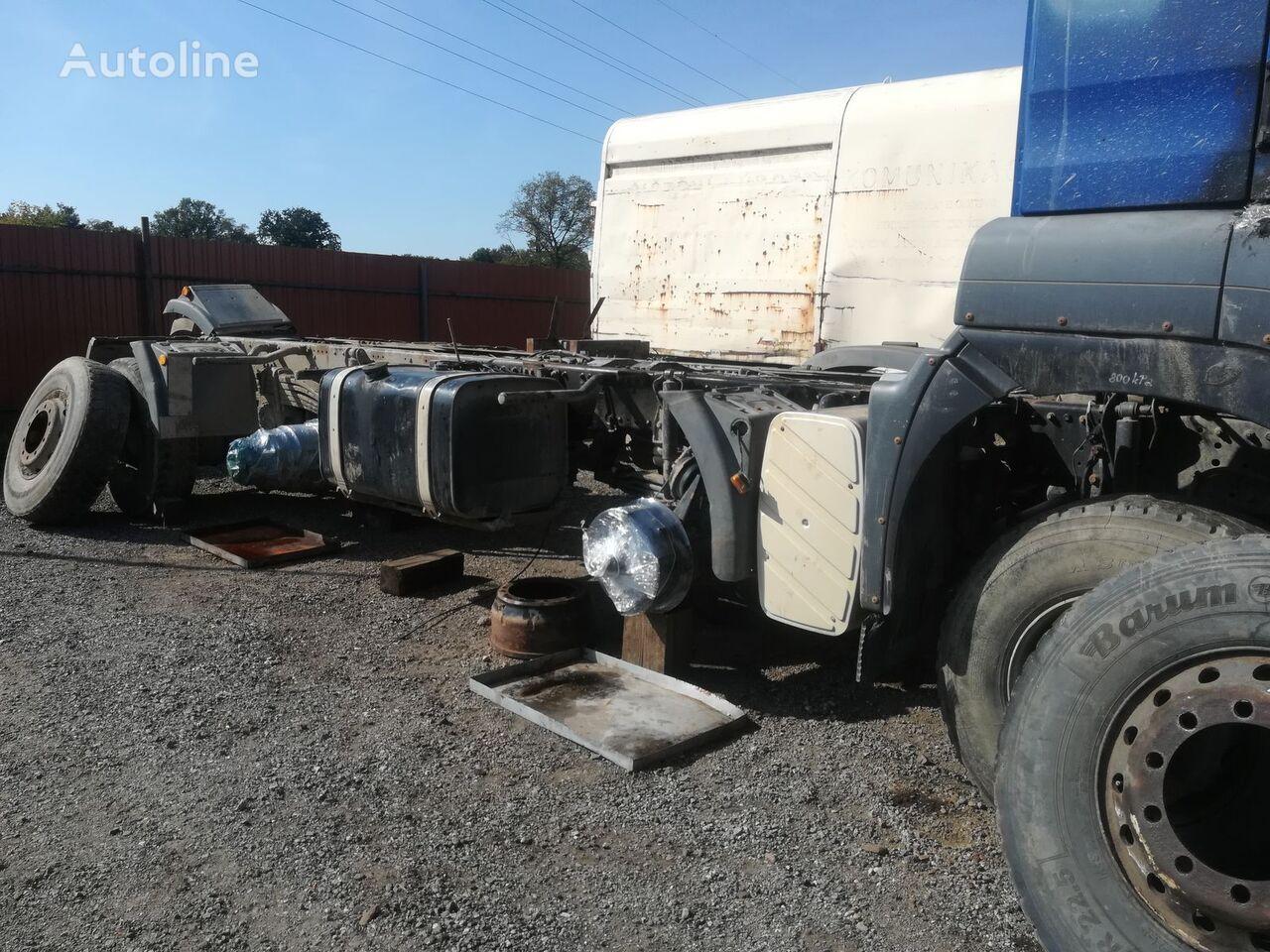 MAN TGS 35.480 8x6 BB Kipper LKW für Ersatzteile