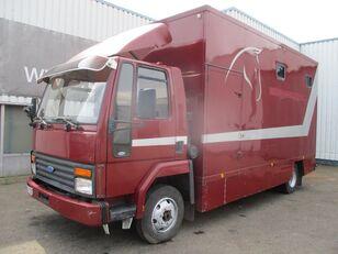 FORD Cargo 0811 , Belgium Horse Truck Koffer-LKW