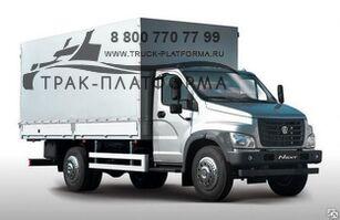 neuer GAZ Next C41R13 Planen-LKW