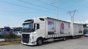 VOLVO fh 420 EURO 6 Planen-LKW + Planenanhänger