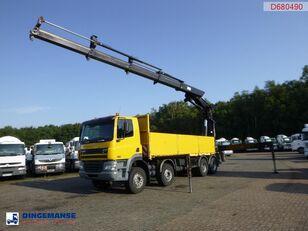DAF CF 85.480 8x4 + Hiab 700 EP-4 Hipro Pritsche LKW