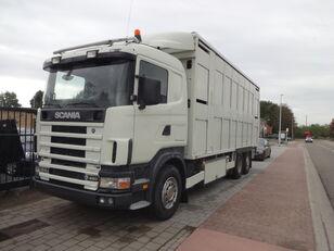 SCANIA 164G 480 Viehtransporter LKW
