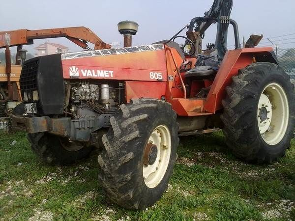 VALMET 805 para peças Radtraktor für Ersatzteile