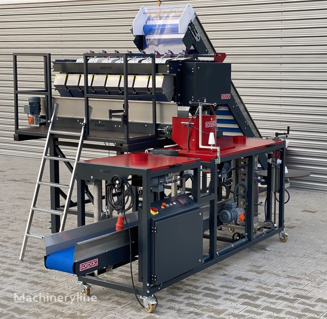 neue SORPAC linia ważąco - pakująca (MW813 + RN01 + taśmociąg) Verpackungsmaschine