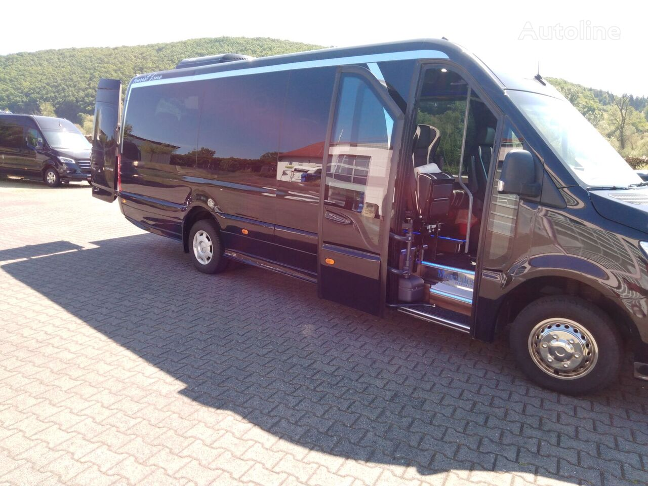 MERCEDES-BENZ Sprinter VVW 516CDI Autom TELMASchw 24 ,Panorama, KL,KS.SS uvm Reisebus