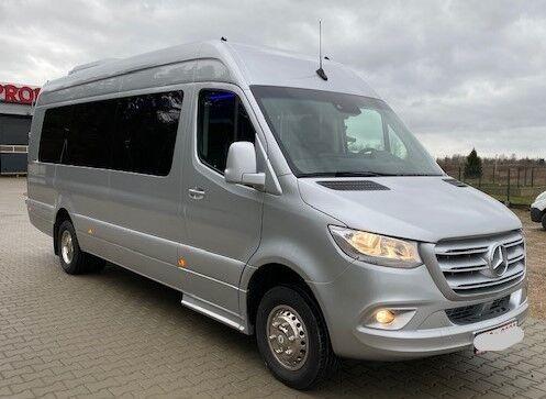 neuer MERCEDES-BENZ 516 CDI 09 Sprinter Linienausführ. 20 Pl Schalt.Klima Bj 2020 Reisebus